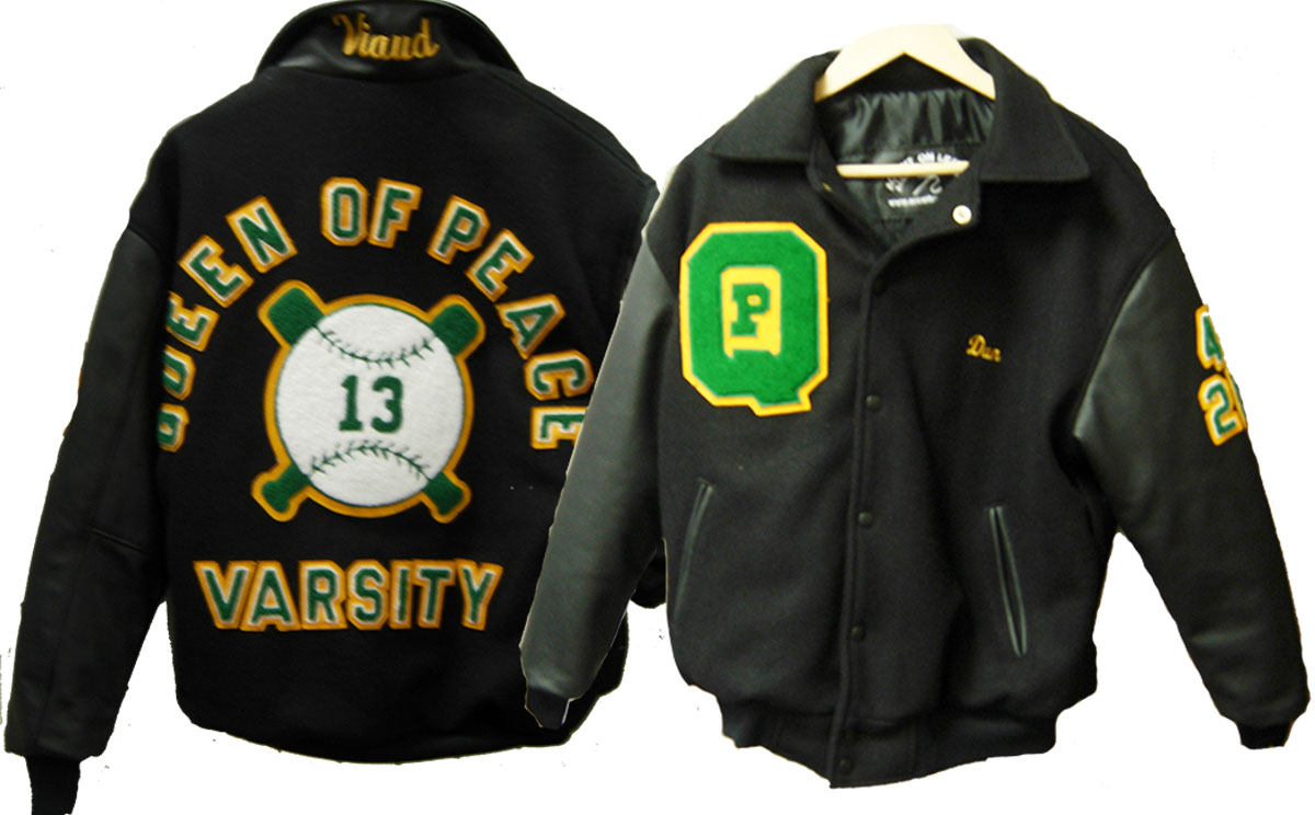 Varsity Jacket  Queen Of Peace