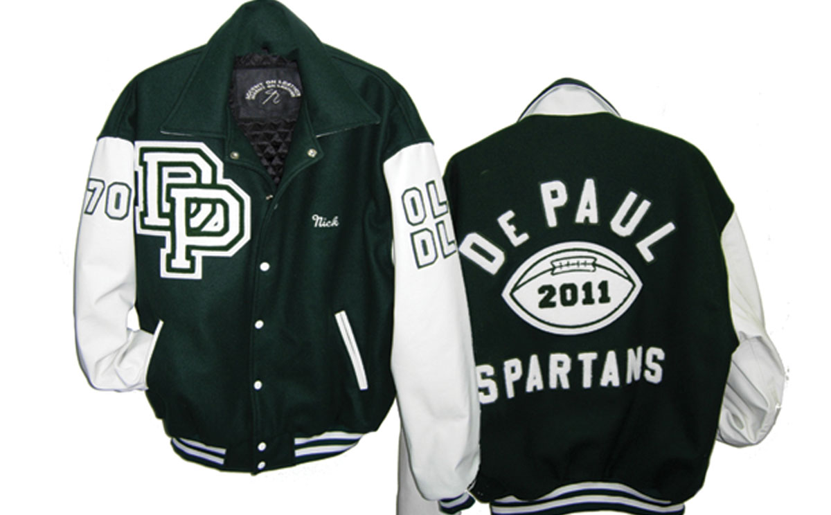Varsity Jacket DePaul High School
