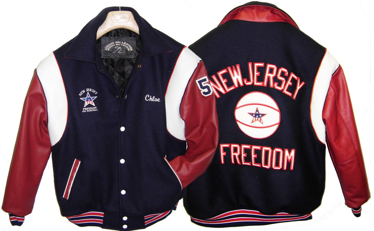 Varsity Jacket NJ Freedom