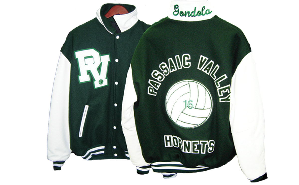 Varsity Jacket Passaic Valley HS