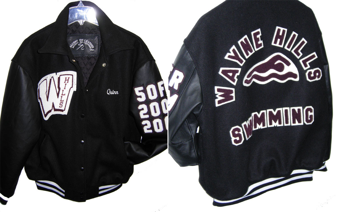 Varsity Jacket Wayne Hills High School Swimming