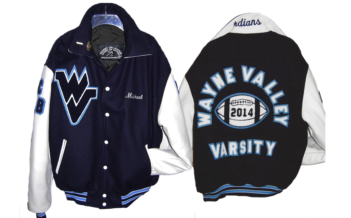 Varsity Jacket Wayne Valley HS Football
