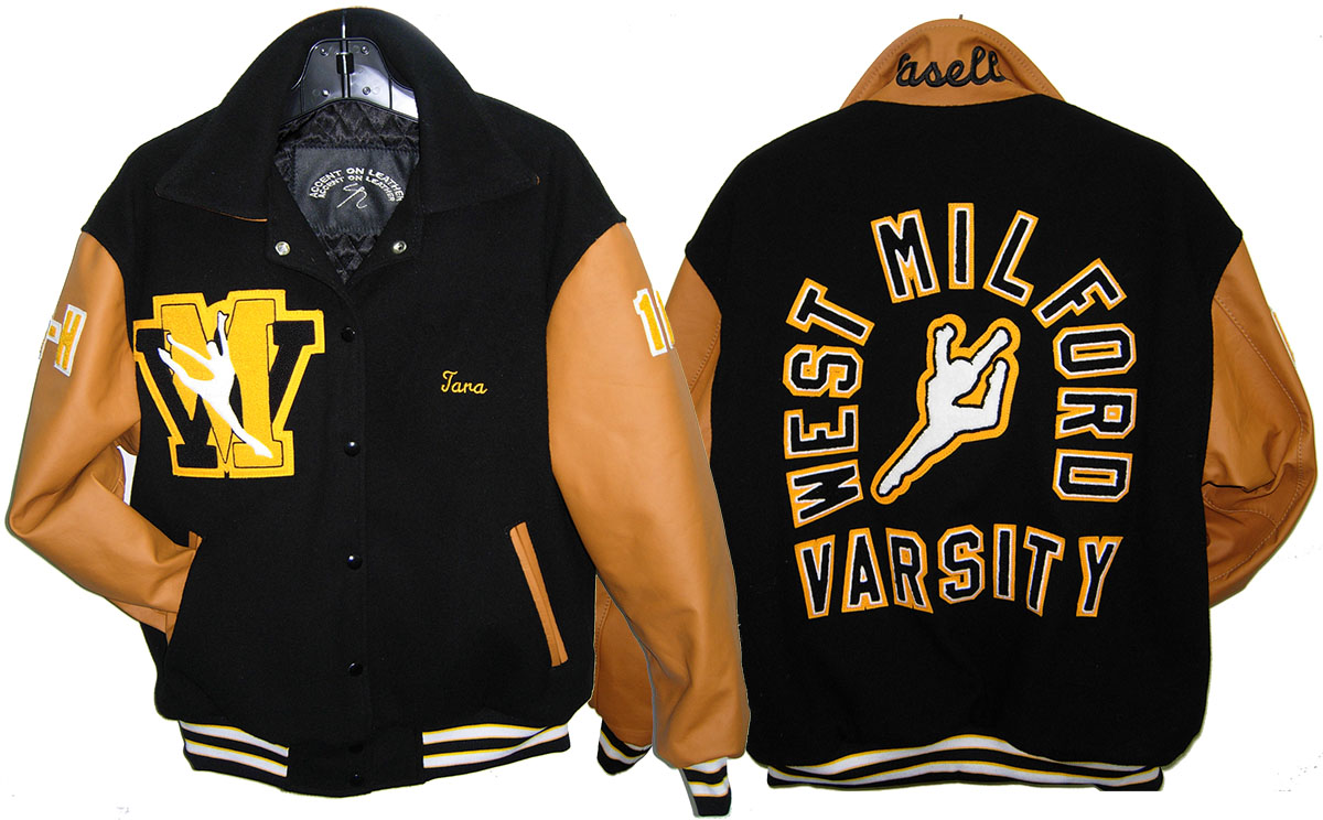 Varsity Jacket West Milford Gymnastics